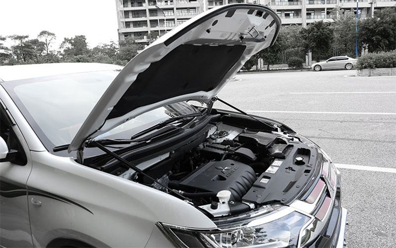 Pour 2013 2014 2015 2017 2018 Mitsubishi Outlander capot avant moteur supportant tige hydraulique jambe de force ressort barres de choc support - 4