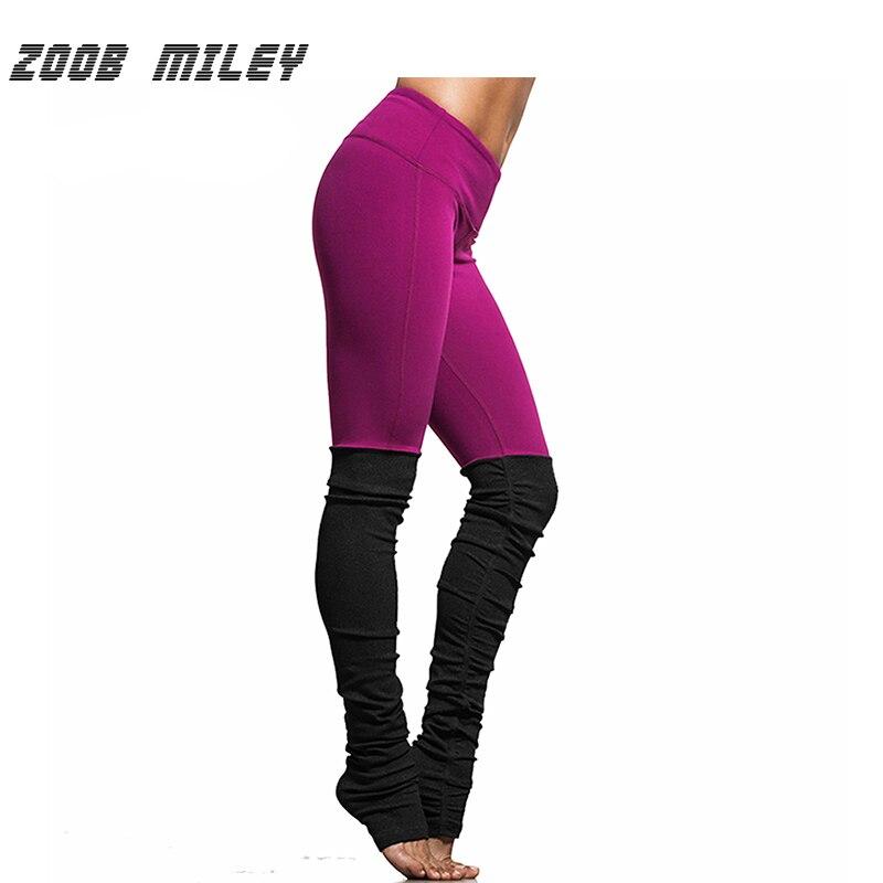 Prix pour ZOOB MILEY Femmes Yoga Pantalon Élastique Fitness Sport Pantalon À Séchage Rapide Course Compression Collants De Danse Gym Workout Leggings