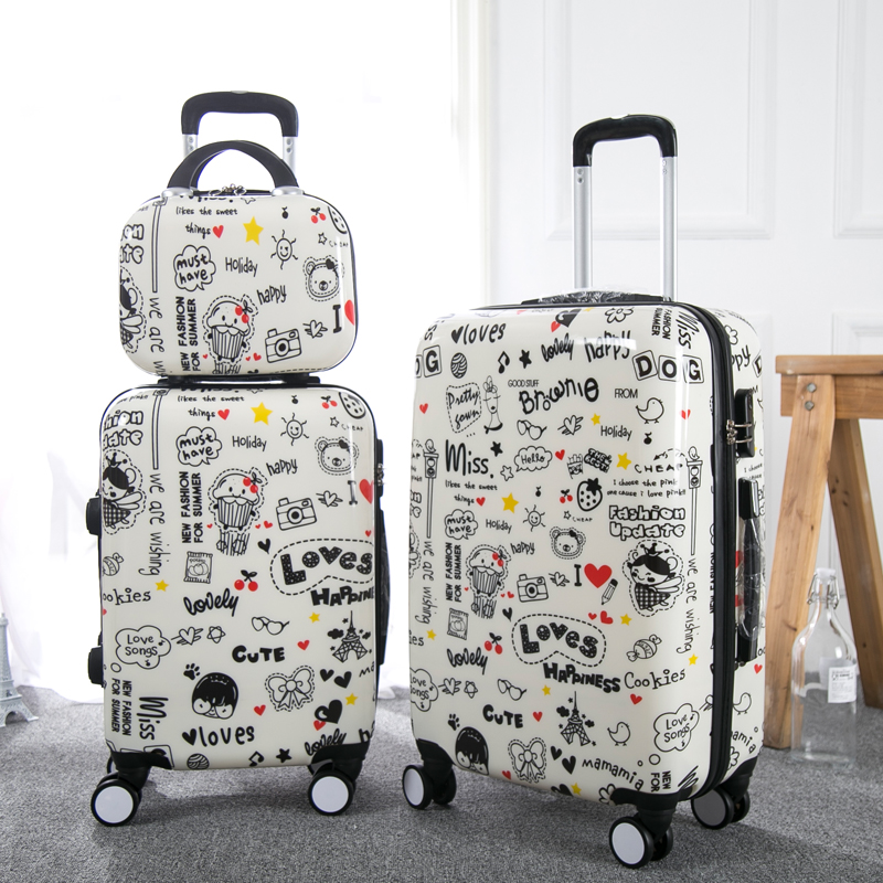 Koffer Valise 20 two Valiz single Coloré Single