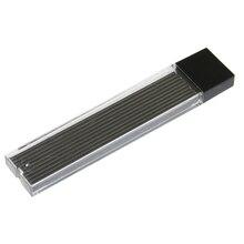 20 шт./кор. распродажа Пластик автоматический пенал для карандашей 2,0 мм графитовый привести 2B механический карандаш пополнения чернил