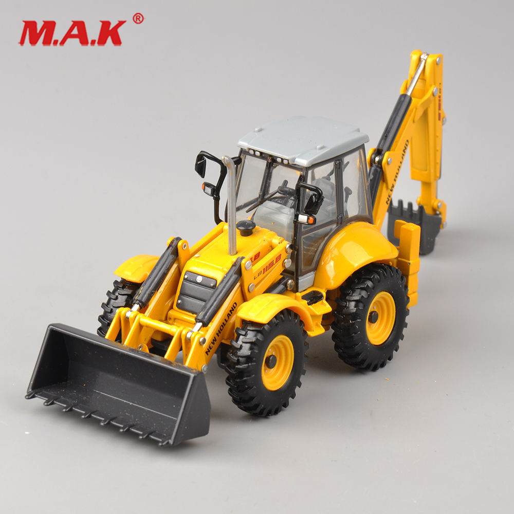 1/50 Scale New Holland Terna LB115B Engineer Vehicles Truck Model Dual Use Engineering Vehicles Model Collection Diecast