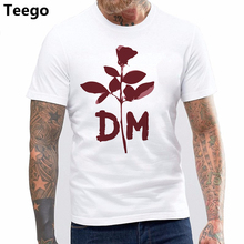 8f96a567fa 2017 New Pure Cotton Short Sleeves Hip Hop Fashion Mens T-shirt Depeche  Mode Violator