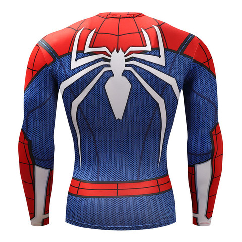 Spiderman T shirts Men Compression T-shirts Fitness Spider Man T-shirts Bodybuilding Top Hot Sale rashguard Brand Karachi