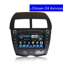 1024*600 2 Din Touch Screen Car DVD Player for Citroen C4 Aircross Android GPS Navigation TV WIFI Bluetooth Car Radio CD USB MP3