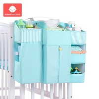 Baby Crib Bed Hanging Storage Bag Multifunction Newborn Bed Organizer Diaper Storage Bag Kids Bedside Diapers Pocket Bedding Set