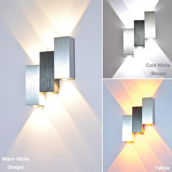 6W Sipërfaqja Sconce e montuar Llambë LED mur brenda shtëpie - Ndriçimit të brendshëm - Foto 5