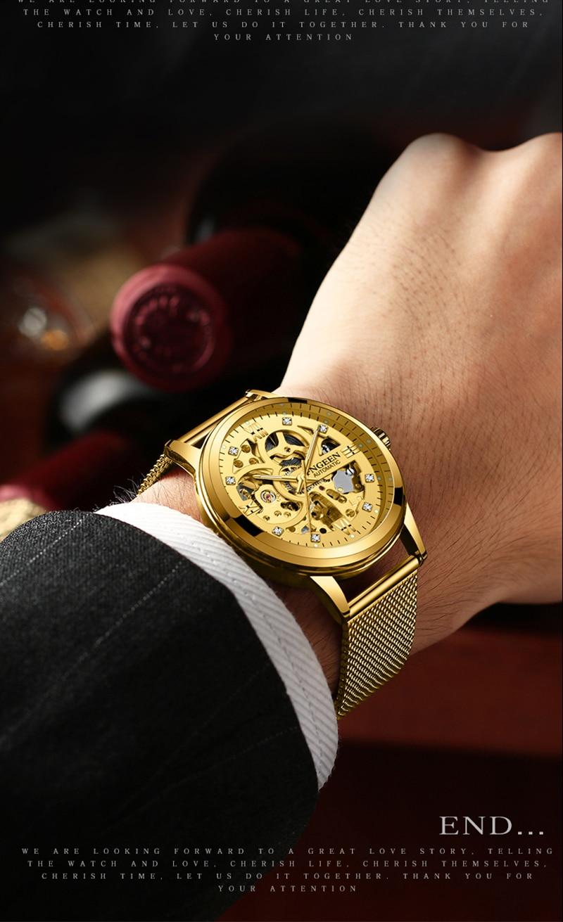 HTB1IZKrdi6guuRkSmLyq6AulFXad Skeleton Watch 2019 New FNGEEN Sport Mechanical Watch Luxury Watch Mens Watches Top Brand Montre Homme Clock Men Automatic Watch