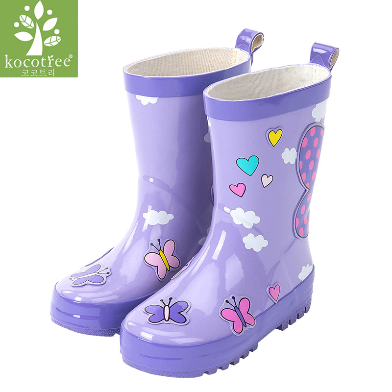 Girls Glitter Sparkle Wellies Size UK13-5 Welly Wellington Children Kids Fashion