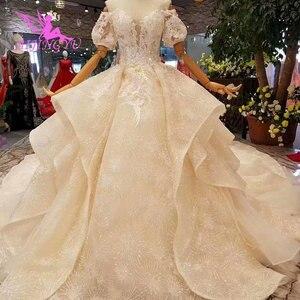 Image 5 - AIJINGYU Hochzeit Shop Mode Kleider Royal Spitze Farbe Design Sommer Kleid Sexy Kurze Hochzeit Kleid