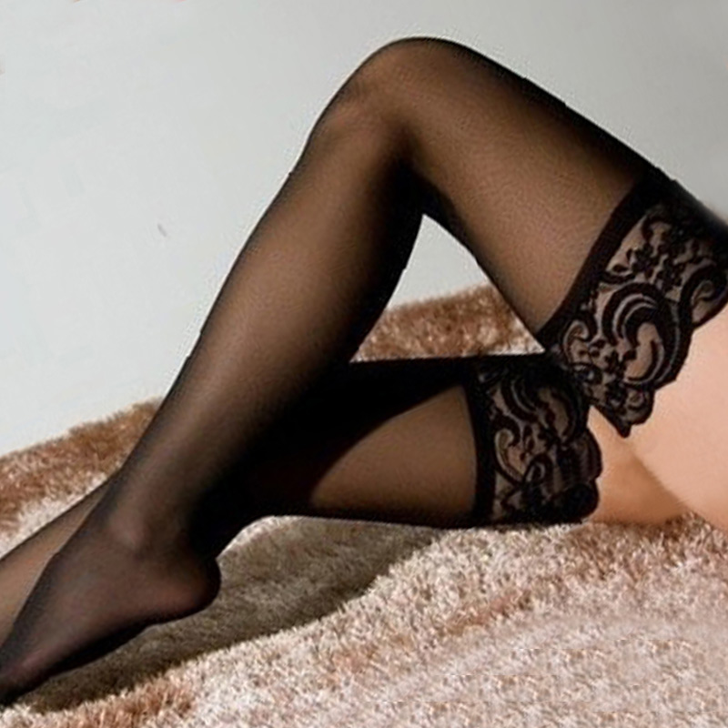 Sexy girls with black stockings