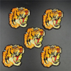 5PCS LOT Mini Embroidered Patch TIGER Embroidery Iron On Patch Decoration Accessories For Clothing