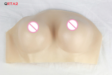 False silicone crossdressing breast cup C D F