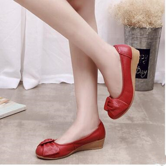 flats work ou bu anbover s comforter pointy comfortable bowknot office women flat ballet shoes toe womens