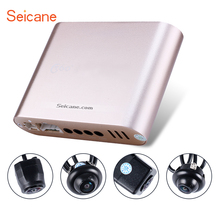 Seicane 360 Degree Surround View Car Parking Assistant System with 4pcs 180 Cameras 2D Display Backup Reverse Assistance Car Kit
