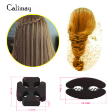 2 hair styles/lot Magic Twist Roller Hair Styling Tools Weave Braid Braider waterfall braider maker Accessories