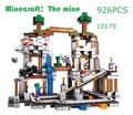 My Worlds Minecraft  The Mine Model Building Blocks Toys Hobbies For Children 10179 Model Building Kits Compatible With Lego