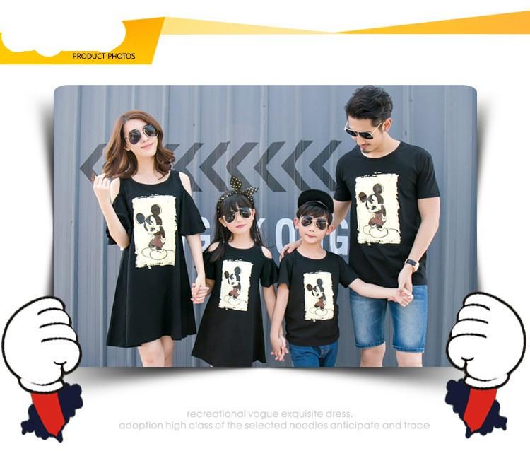 HTB1IZM8KXXXXXbAXVXXq6xXFXXX3 - Entire Family Fashion - Matching Outfits - Stylish Casual Look - Cartoon Mouse Print