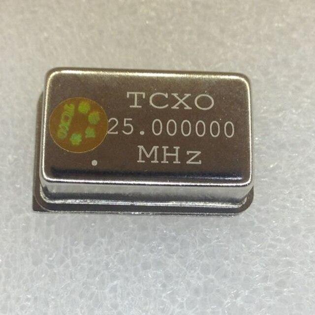 1 개/몫 TCXO 25.000000MHZ 25MHZ 25M 25.00000 0.1PPM TCXO 액티브 크리스털 발진기 DIP4 NEW /Fast shipping