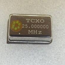 Oscilador de cristal ativo tcxo, oscillatador de cristal ativo dip4, 1 pçs/lote, tcxo 25.000000mhz 25m 25.00000 0.1ppm