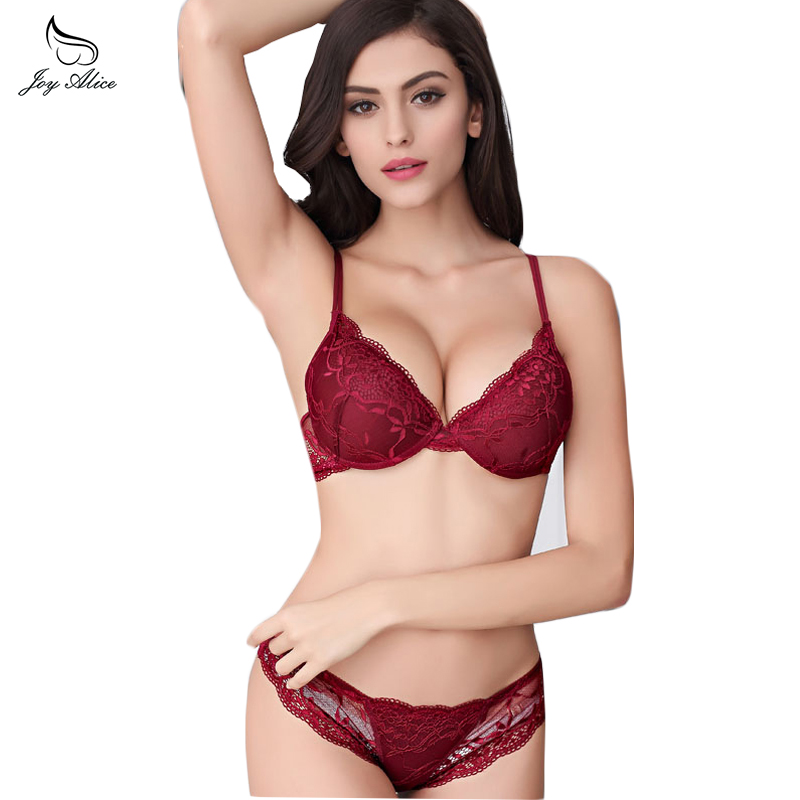 New luxuery France Embroidered Lace   Bra     Sets   For Women Push Up   Bra   And Panty   Set   Underwear   Sets   sexy lingerie
