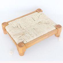 Vintage madera log Bed props rústico bebé cama de madera mancha bebé madera Props infantil Banco silla ducha regalo