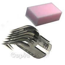 Free Shipping HAIR CLIPPER COMB for philips QC5115 QC5120 QC5125 QC5130 QC5135 Complimentary sponge