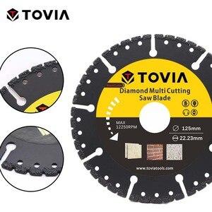 Image 4 - TOVIA 125mm Diamond Circular Saw blade Multi Cutting Universal Disc Multipurpose Angle Grinder Saw Disc Power Tool Accessories