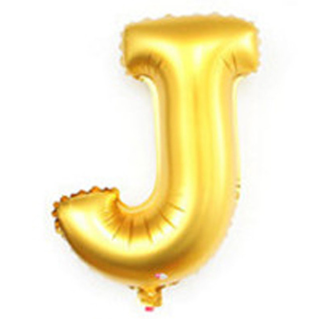 40 inch alphabet balloons party decoration supplies large foil helium gold silver birthday wedding letter inflatable