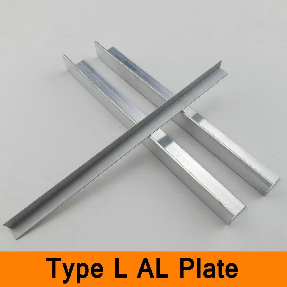 type l profile aluminium sheet al plate diy material for. Black Bedroom Furniture Sets. Home Design Ideas
