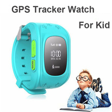 HQต่อต้านหายไปเด็กติดตามจีพีเอสนาฬิกาSOSฉุกเฉินGSMโทรศัพท์มือถือสมาร์ทAppสำหรับIOSและA Ndroid S Mart W Atchสายรัดข้อมือr eloj