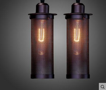 Vintage Lamp Edison Bulb Loft Industrial Pendant Light For Dinning Room,Lamparas Pendente De Teto 60w edison vintage pendant lights with metal lampshade retro loft industrial lamp lamparas pendente de techo hanglamp