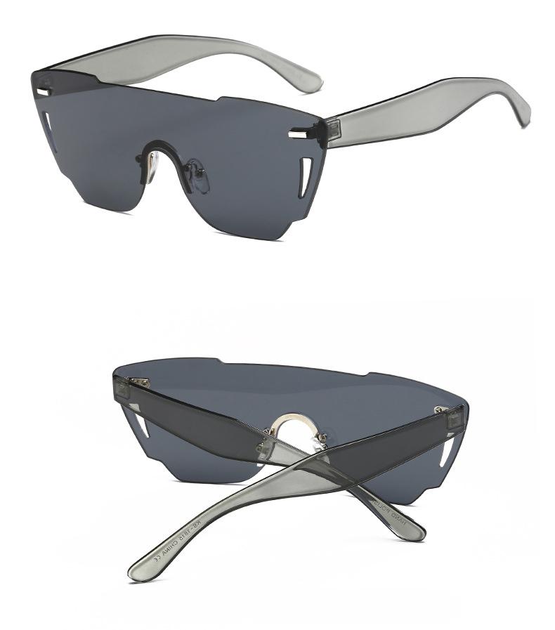 HTB1IZNvRXXXXXcVXVXXq6xXFXXXA - Candy Color Sunglasses Flat Top Rimless Sunglasses
