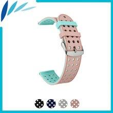Ремешок силиконовый для asus zenwatch 2 wi502q резиновый браслет