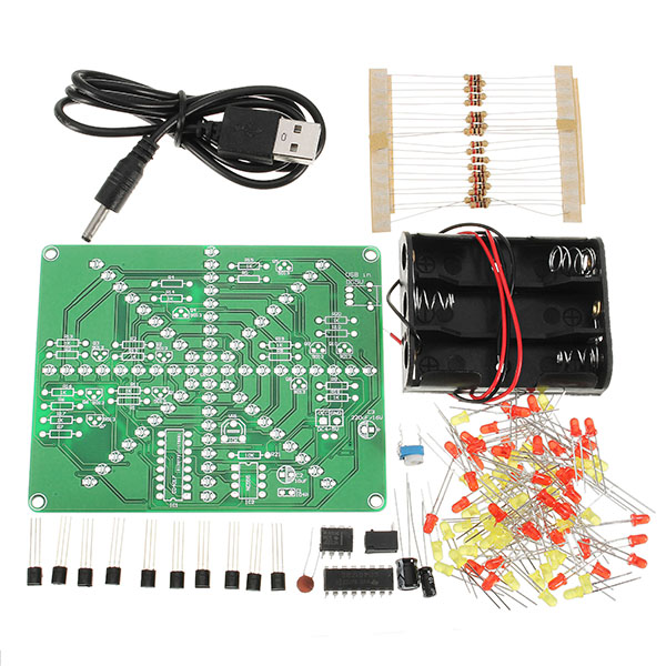 Accessories & Parts Audio & Video Replacement Parts Leory Diy 3d Light Cube Kit Blue Led Mp3 Music Spectrum Diy Electronic Kits 8x8x8 512led Display Electronic Production Diy Kits Highly Polished