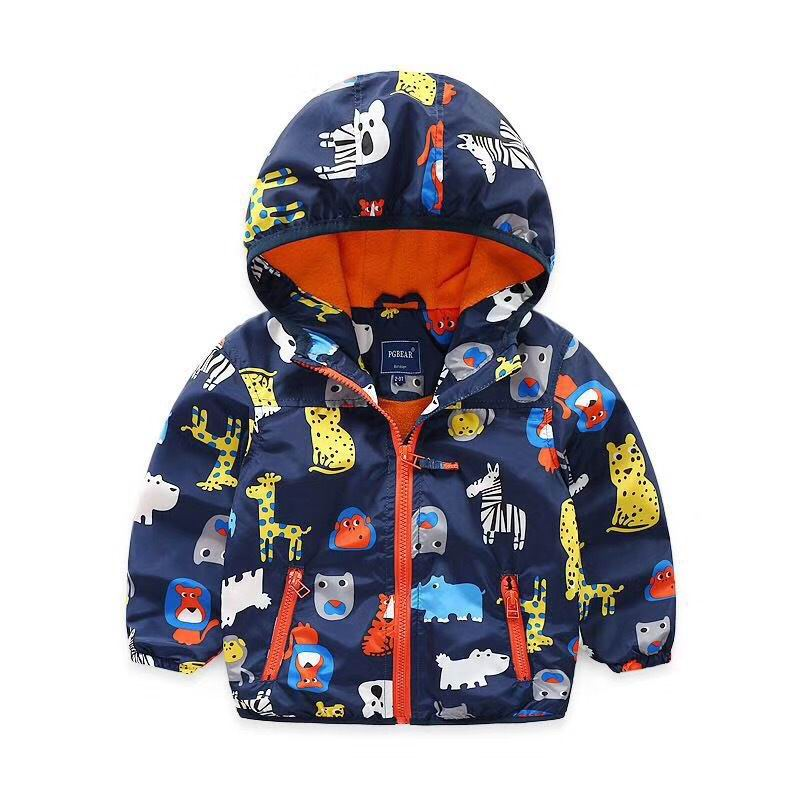 aa147dab3 Spring Autumn Kids Jackets Girl Sofia Unicorn Windbreaker Princess Hooded  Coats Baby Girl Clothing Children Outerwear HY001-in Jackets & Coats from  Mother ...