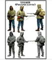 1/35 WW2 The German stalker one soldier WWII       resin kit new coming best quality