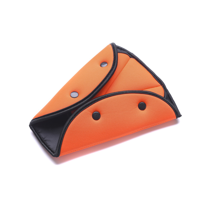 Image 3 - EAFC Car Safety Belt Cover Sturdy Adjustable Triangle Safety Seat Belt Pad Clips Baby Child Protection Car Styling Car Goods-in Seat Belts & Padding from Automobiles & Motorcycles