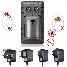 US/UK/EU/AU Plug 2018 Summer Supply Electronic Ultrasonic Pest Control Repeller Rat Mosquito Mouse Insect Rodent Pest Repeller(China)