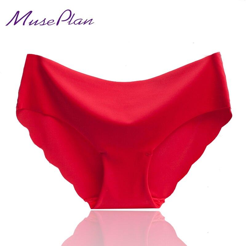 ГОРЯЧИЕ ПРОДАЖИ Ультра-тонкий Comfort Underwear женщины Бесшовные Трусики для женщин бесшовные хлопок Трусы женщины Малоэтажное оборками undewear