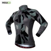 WOSAWE Novo Verão Camisa de Ciclismo Bicicleta Camisa de Manga Longa Top Roupas Roupas de Bicicleta Sportwear Jersey S-2XL Para Homens & Mulheres