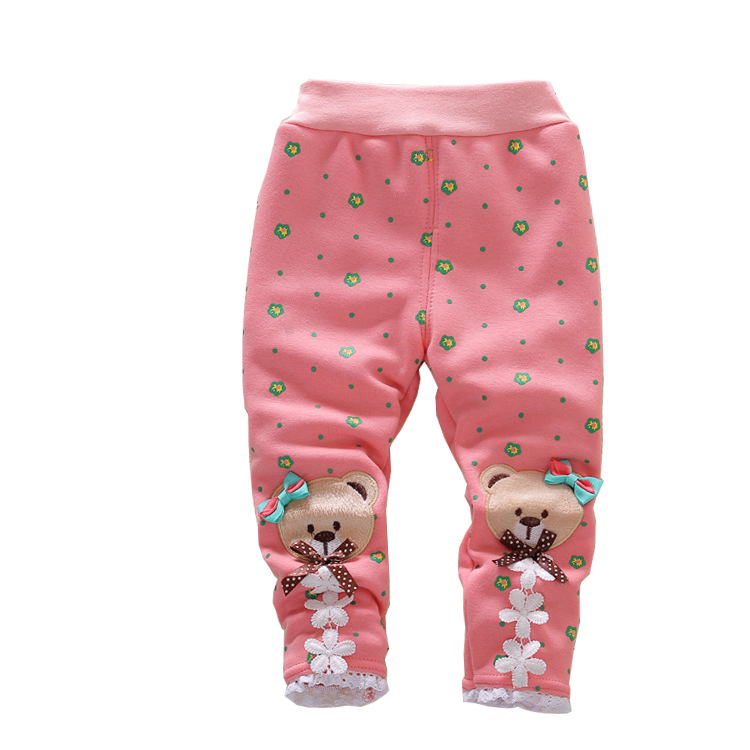 Baby Leggings Long-Pants Winter Toddlers Autumn Cartoon Fashion New Hot Cute And Hot-Sell