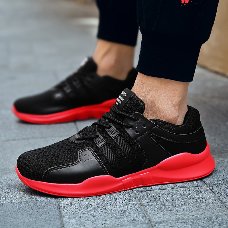 Baseball-Shoes Athletic-Trainers New Lace-Up Men For Zapatillas Sports Male Outdoor Walking-Sneakers