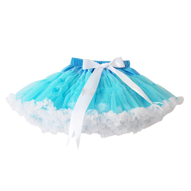 2014 New Style Baby Girls Chiffon Fluffy Pettiskirts Tutu Princess Skirts Baby Girl Clothes Free Shipping