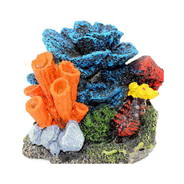 New resin artificial aquarium coral decoration fish tank