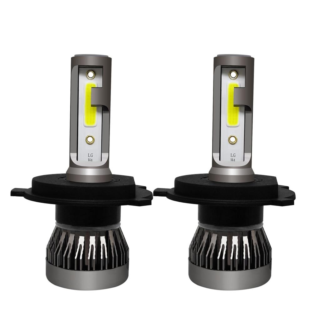 Image 2 - 2 個車のヘッドライトランプ H7 H8 H11 LED 電球 H1 H4 HB2 LED ヘッドランプ 9005 HB3  9006 HB4 6000 ション [6000k フォグライト 12V 6000LM LED ランプ 36 ワット     グループ上の 自動車