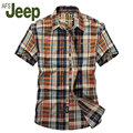 In the summer of 2016 new AFS JEEP short sleeved shirt male Korean slim men battlefield Jeep code loose casual shirt tide 60