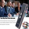 T8 умный голосовой Bluetooth переводчик портативный интеллектуальный переводчик несколько 40 + языков путешествия бизнес мгновенный перевод