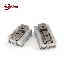 Sliding rail mechanical clamping cylinder hdf8-8/16hdf12-12/24/48 / hdf16-16/32/64 Slide table finger HDF8-8 HDF8-16