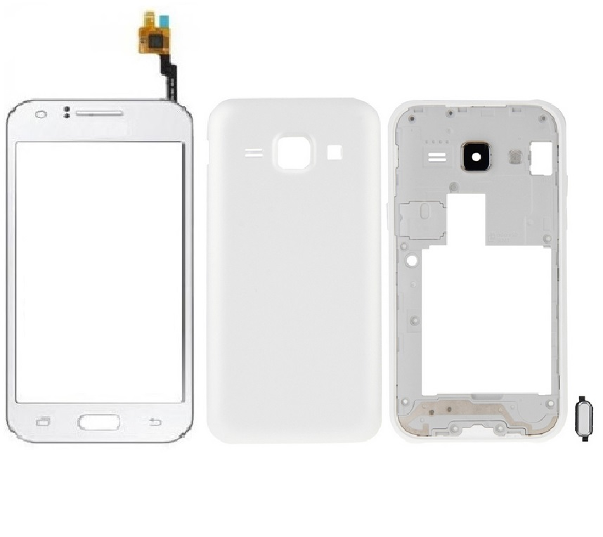 samsung j1 touch and housing white