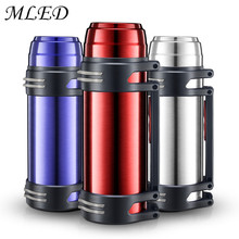 2000ml Stainless Steel Insulated Thermos Vacuum Flask Outdoor Water Thermal Bottle Travel Thermos Garrafa Termica Sport Termos